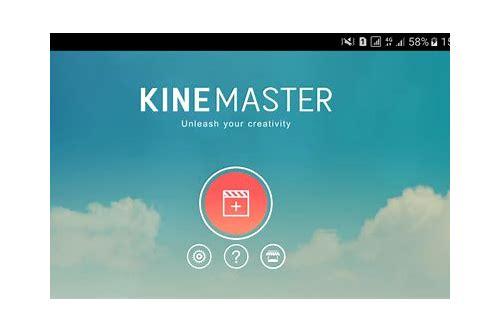 kinemaster pro baixar gratuito android 4.1.2