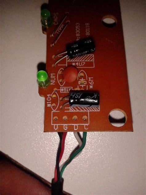 como conectar los cables a la placa del teclado pc acer yoreparo