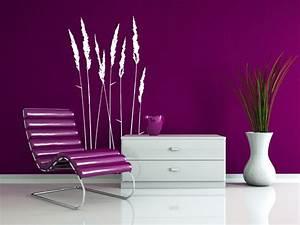 Flieder Farbe Wand : wandtattoo stilvolle gr ser von ~ Markanthonyermac.com Haus und Dekorationen
