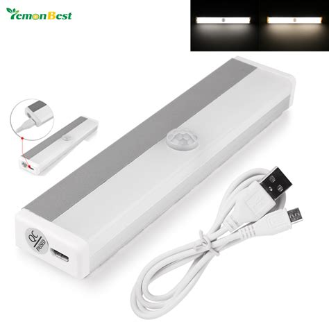 rechargeable magnetic infrared ir motion sensor led wall