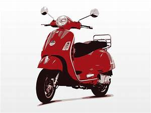 5 Hands-Free Vector Scooter Images - Vespa Scooter Clip ...