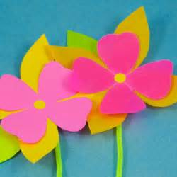 How to Make Paper Flowers Crafts