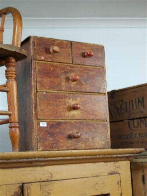 drawers small depression era important australiana