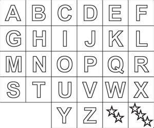 abeced 225 letras do alfabeto para imprimir como fa 231 o