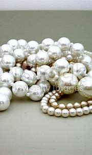 Pile Of Pearls Stock Photo & More Pictures of Bead   iStock