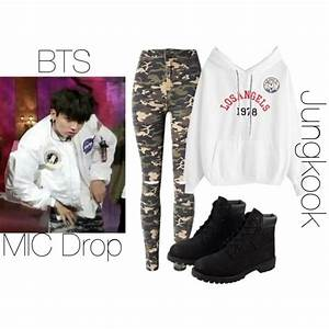 BTS MIC Drop Jungkook inspired outfit by melaniecrybabyz on Polyvore featuring polyvore fashion ...