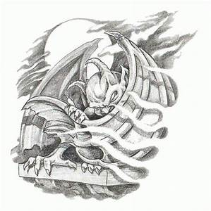 Download Free Awesome gargoyle tattoo stencil Tattoos