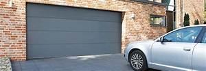 prix d39une porte de garage cout moyen tarif d With prix pose porte de garage