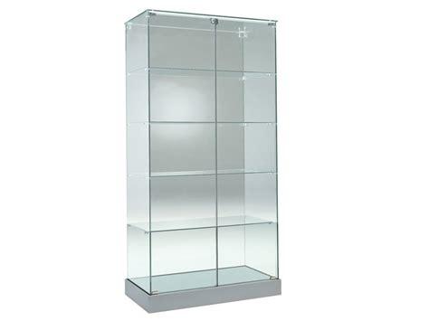 glas schiebetür abschliessbar standvitrine glas g 252 nstig bei jourtym de kaufen