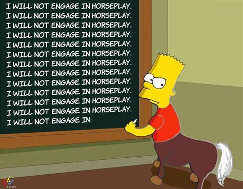 image  bart simpsons chalkboard parodies