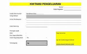 Contoh Invoice Hotel Contoh Kwitansi Untuk Lpj Keuangan Desa Anakciremai