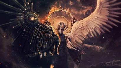 Angel Demon Angels Demons Wallpapers Devil Desktop