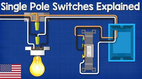 Single Pole Switch Lighting Circuits How Wire Light