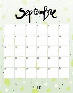 Calendrier Par Mois : calendrier septembre t l chargez gratuitement votre ~ Dallasstarsshop.com Idées de Décoration