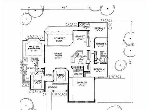 one 4 bedroom house plans 4 bedroom country house plans smalltowndjs com