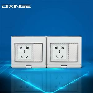 Multi Function Dual 5 Pin Socket Wiring Light Wall Socket