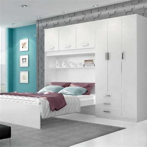 modelo de cama embutida planejado ou modulado guarda roupa