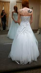 Bustle for tulle wedding dress suggestions weddingbee for Bustle tulle wedding dress