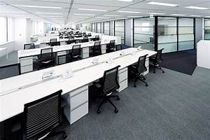 Furniture business overview kokuyo worldwide for Japanese office layout