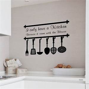 Wonderful ways to decorate your kitchen with kitchen wall for Best brand of paint for kitchen cabinets with wall hangings art