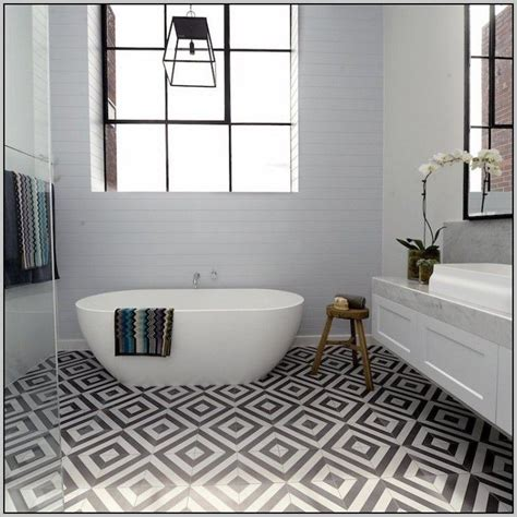 Raumgestaltung Mit Bodenfliesen by Boden Fliesen Mit Muster Bodensbemallung Badezimmer