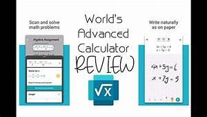 World U0026 39 S Advance Calculator - Microsoft Math Solver