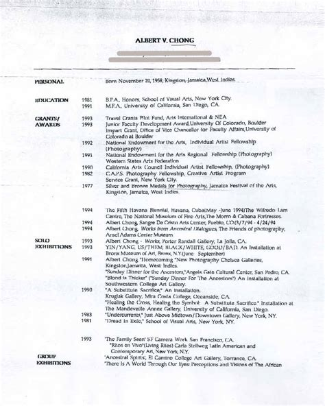 Resumesart Resumes by Chong Albert V Selected Document Artasiamerica A