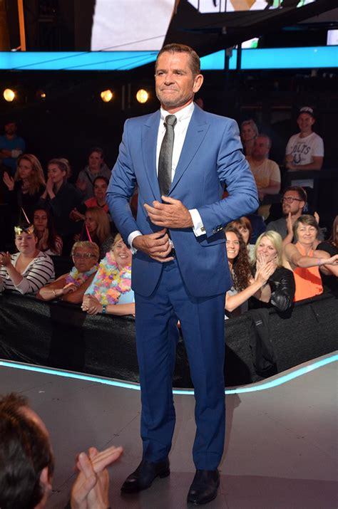 grant bovey s celebrity big brother eviction in pictures