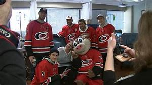 Carolina Hurricanes spread cheer with sick patients, help ...