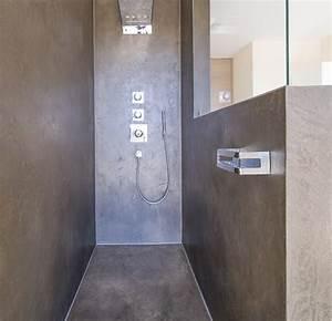 Dusche Statt Fliesen : die fugenlose dusche trendig und chic farbefreudeleben ~ Lizthompson.info Haus und Dekorationen