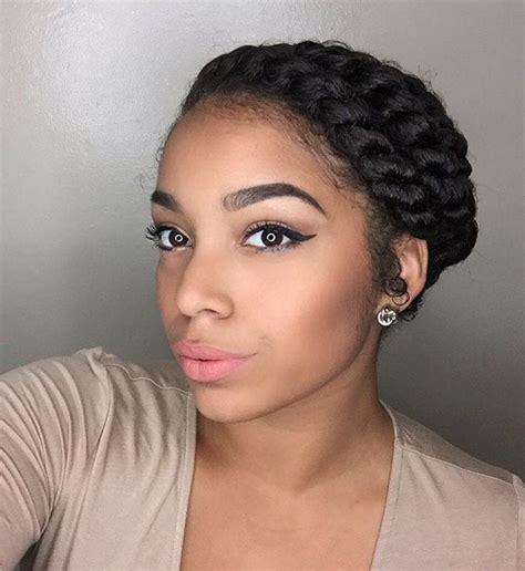 Black Updo Twist Hairstyles by Flat Twist Hairstyles 13 Fierce Looks From Instagram That