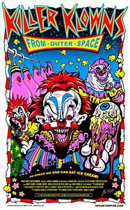 Details about Killer Klowns from Outer Space Silk Screened ...