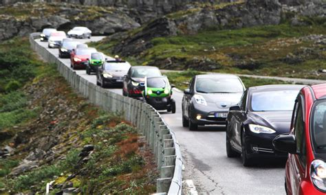 world  follow norways lead  electric cars minister
