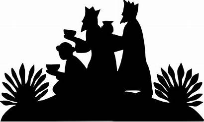 Wise Silhouette Nativity Svg Clipart Christmas Wisemen