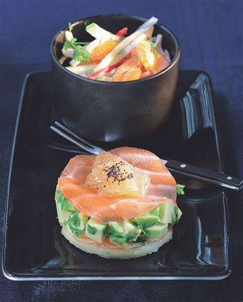 aspic cuisine recette concassée d avocat et saumon fumé au plemousse