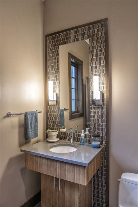powder room mirror powder room contemporary with bathroom powder room makeovers powder room contemporary with pink