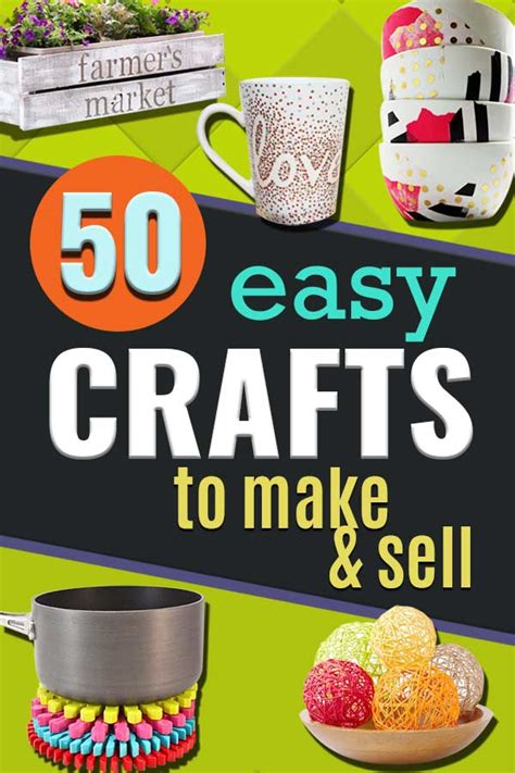 easy crafts to make and sell 50 easy crafts to make and sell 7694