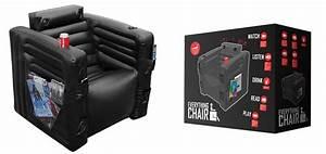 Gamer Stuhl Mit Boxen : everythingchair der aufblasbare multimedia stuhl gadgets ~ Frokenaadalensverden.com Haus und Dekorationen