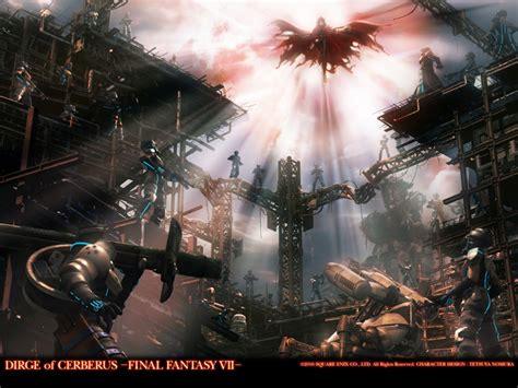 Final Fantasy Vii Dirge Of Cerberus Ff7dc Wallpapers