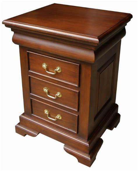 mahogany bedside table lock stock and barrel mahogany furniture mahogany 3943