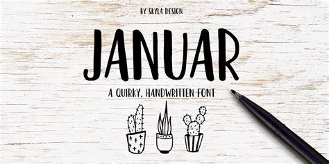 januar font fontspring
