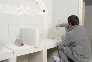 une structure en bloc de beton cellulaire le siporex With fabriquer des carreaux de ciment soi même