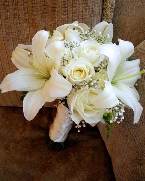 The Flower Girl Blog White Bridal Bouquet