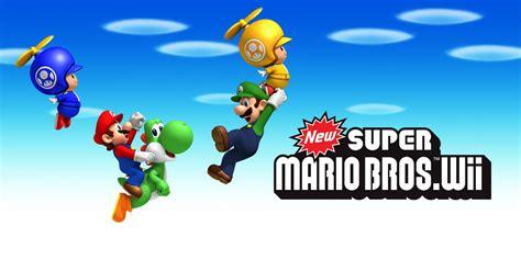 New Super Mario Bros Wii Wii Games Nintendo