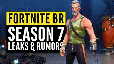 fortnite season  leaks  insane theories youtube