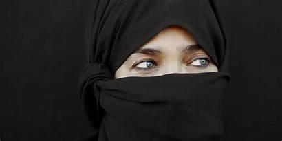 Islam Muslim Stop Woman Police Islamic Muslims
