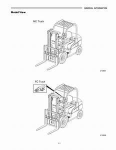Wheel Torque Master Chart Mitsubishi Fg15 N Forklift Trucks Service Repair Manual Sn