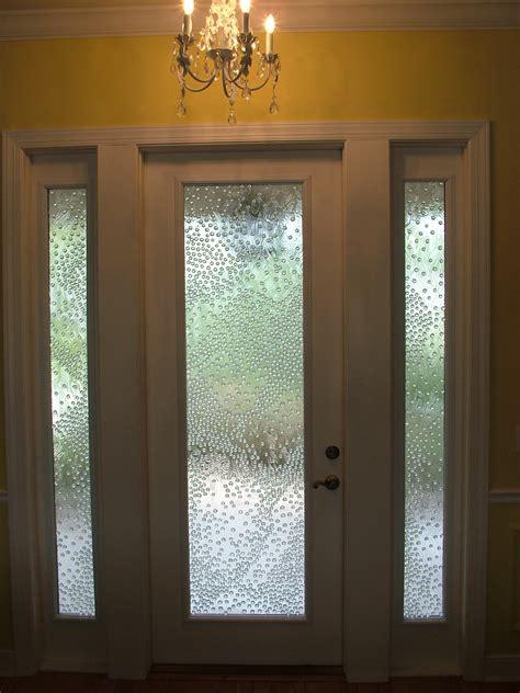 custom designed bubble glass doors glass design