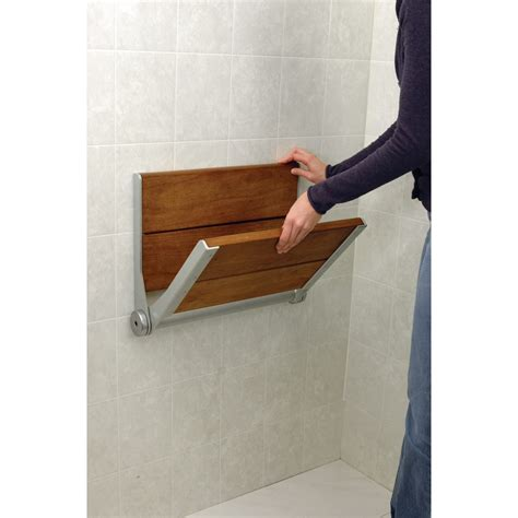 Flip Shower Bench by Maxiaids Serenaseat Fold Shower Seat 18 In Chrome