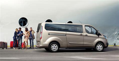 ford tourneo custom commercial van  debut